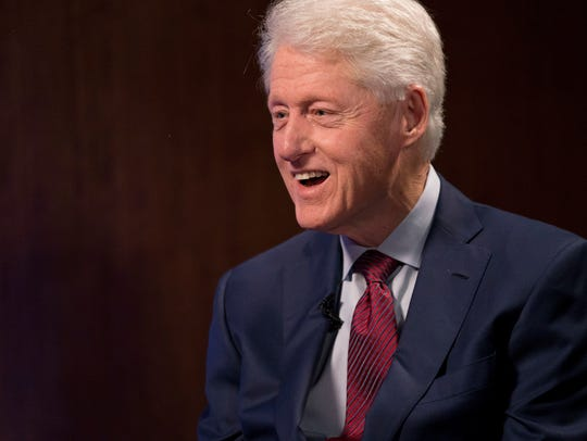 Former president Bill Clinton sits down with USA TODAY's