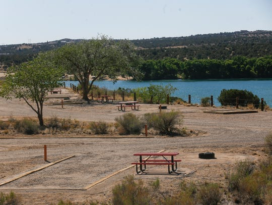 The opening of the new campground at Farmington Lake will be celebrated during an event this afternoon.