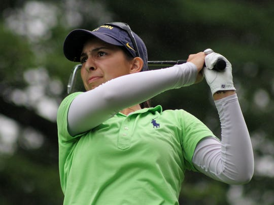 Mikaela Schulz, who will be a senior this year at Bloomfield Hills and is the 2018 Michigan Junior Amateur champion, is entered in the AJGA tournament set for Aug. 6-9 at Forest Lake Country Club.