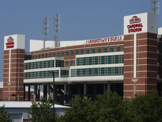 The University of Louisville has decided to remove signs with references to the Papa John's brand at Papa John's Cardinal Stadium after company founder, John Schnatter, admitted to using a racial slur during a business call.July 12, 2018