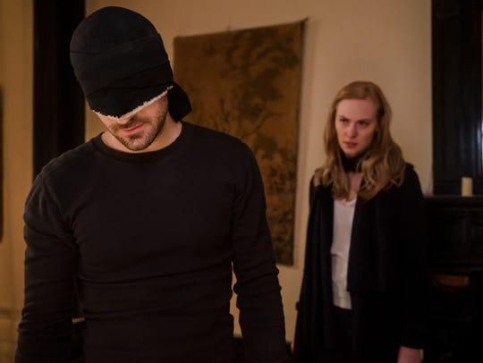 """Marvel's Daredevil"" returns for a third season."