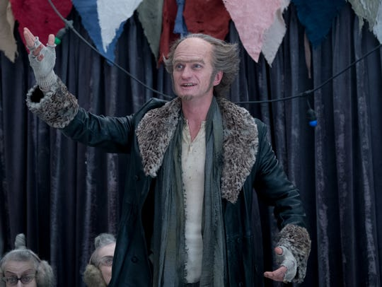 "Neil Patrick Harris in ""A Series of Unfortunate Events."""