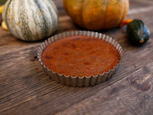 Squash pie True Food Kitchen