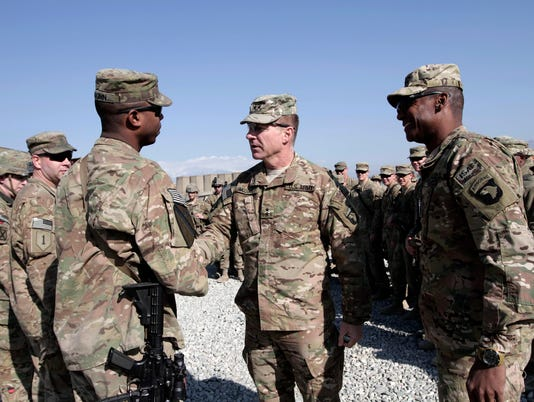 AP AFGHANISTAN US TROOPS CHRISTMAS I AFG