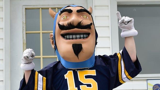 The Greencastle-Antrim High School mascot is the Blue Devil.
