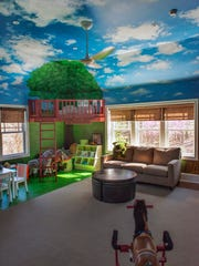 The finished kids playroom is shown. Some homeowners are able to get all or part of their money refunded, but others never get repaid for their financial loss, much less the time and aggravation of a renovation disaster. MUST CREDIT: Washington Post photo by Bill O'Leary.