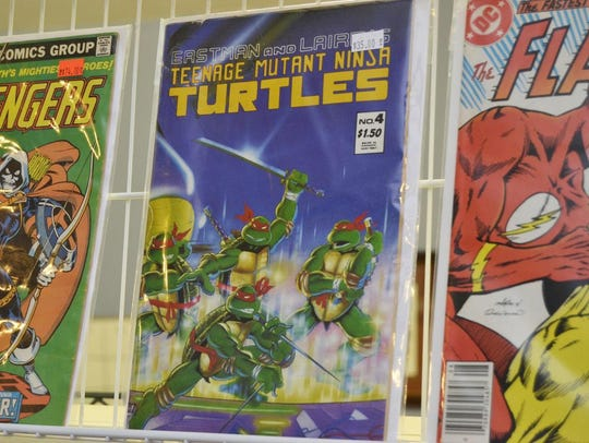 Classic and not-so-classic comic books are available