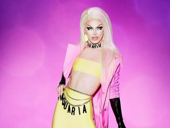 Aquaria, the 21-year-old contestant from West Chester,