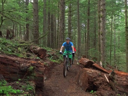 New Mountain Bike Trail Opens At Silver Falls State Park