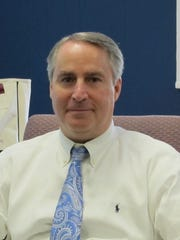 Douglas Adams, superintendent of the Suffern Central School District, in his Hillburn office.