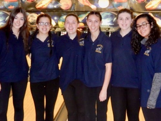 The Ramsey girls bowling team finished second in its division in 2017-18 with a 46-10 points record.