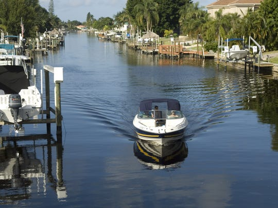 About half of Cape Coral's 400 miles of canals offer either direct or indirect access to the Gulf of Mexico.