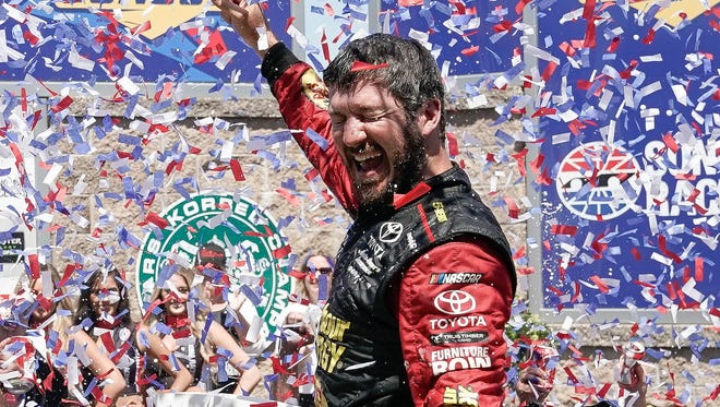 Martin Truex Jr. won at Sonoma after crew chief Cole Pearn out-smarted Kevin Harvick's team.