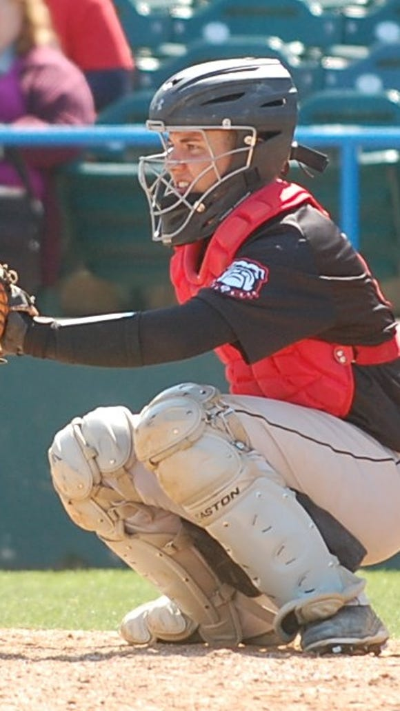 Thomas Gosse has settled in as Haddonfield's starting catcher
