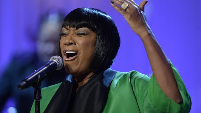 Singer Patti LaBelle performs 'Over the Rainbow' during the event, 'In Performance at the White House - Women of Soul', on March 6, 2014, in the East Room of the White House in Washington DC. The event was held to celebrate American music legends and contemporary major female artists.