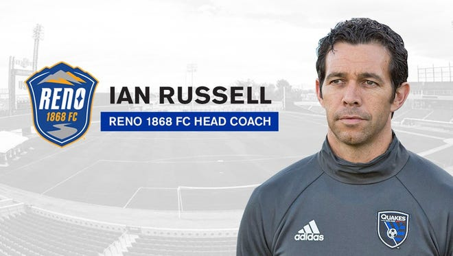 Ian Russell was named Reno 1868 FC coach