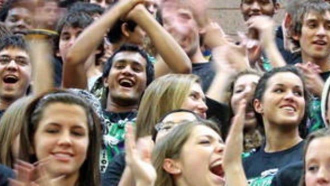 Show your high school spirit