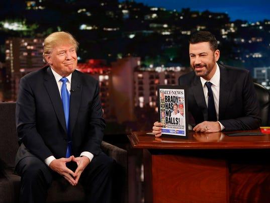 Kimmel and Trump