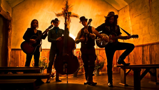 The Dirty River Boys will perform Jan. 14 at the Iron Horse Pub.