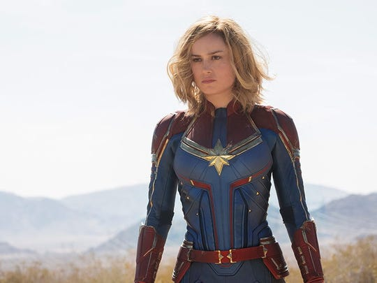 """Captain Marvel,"" the latest entry into the Marvel Cinematic Universe."