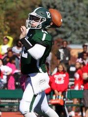 St. Joseph High School quarterback Paul Cocozziello