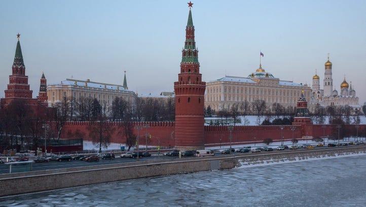 The Kremlin, Moscow, Jan. 6, 2017.