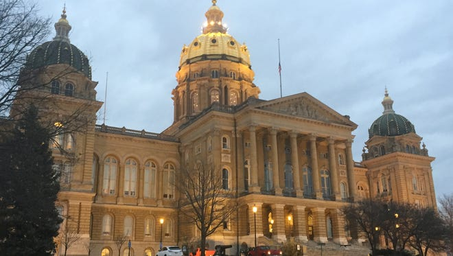 The Iowa Capitol is within Senate District 16, where two Democrats are seeking their party's nomination for a seat being vacated by Sen. Dick Dearden, D-Des Moines, who is retiring after holding the seat for 22 years.