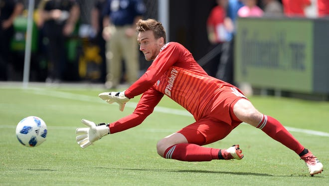 Los Angeles FC goalkeeper Tyler Miller was born and raised in Woodbury and played at Bishop Eustace.