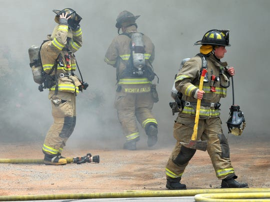 The city of Wichita Falls said the fire department is conducting training Wednesday with the Denton Bomb Squad.