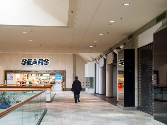 The second floor Sears wing of Knoxville Center Mall
