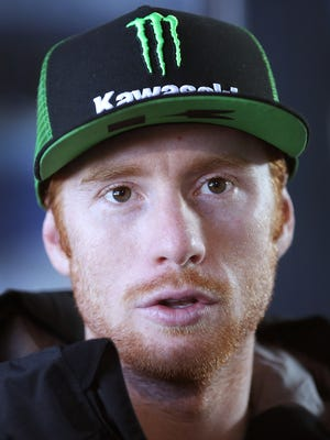 Ryan Villopoto won four consecutive Supercross races at Lucas Oil Stadium in Indianapolis