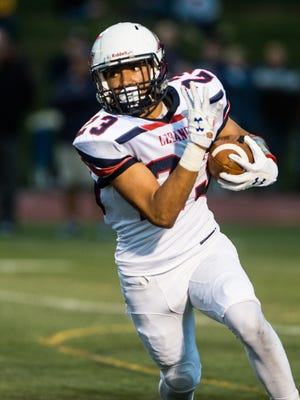 Lebanon's Luis Aquino-Rios was named to the East team for the PSFCA East-West All-Star Game on Wednesday.