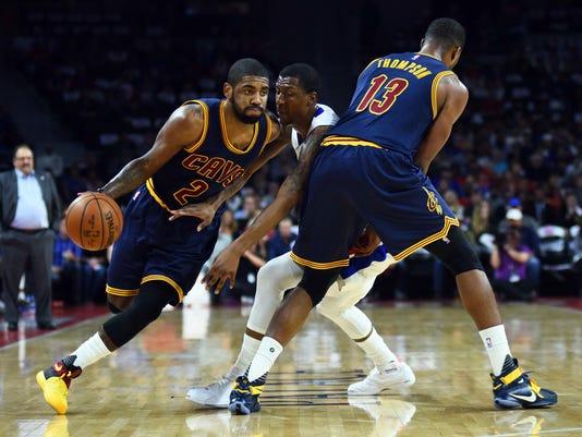 USP NBA: PLAYOFFS-CLEVELAND CAVALIERS AT DETROIT P S BKN