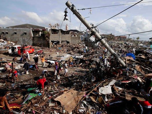 3504865 on After Typhoon Haiyan Devastated Central Philippines On November 8