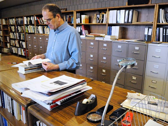 John Decker, director of archives at the Stearns History