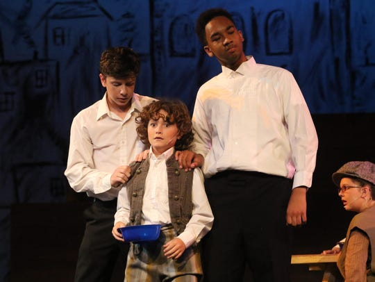 """Oliver!"" opens Saturday at Strauss Theatre Center."