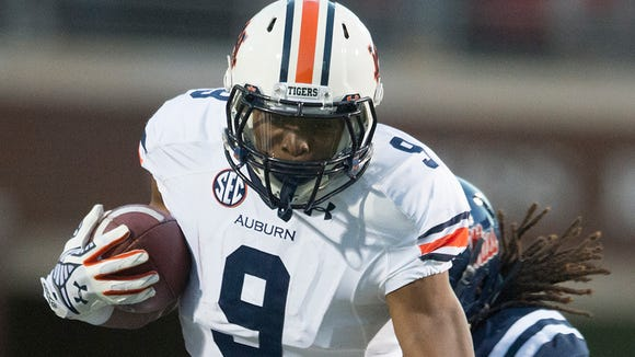 Auburn running back Roc Thomas is expected to play against Texas A&M after rolling his ankle against Ole Miss.