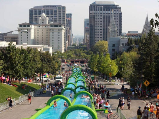 Slide the City was previously held in Salt Lake City and Boise.