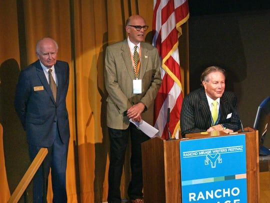 Rancho Mirage Mayor Dana Hobart, David Bryant, Jamie