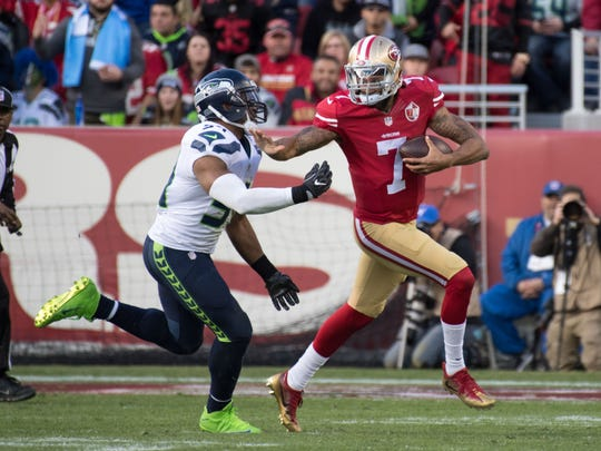 Colin Kaepernick started 11 games for the 49ers last