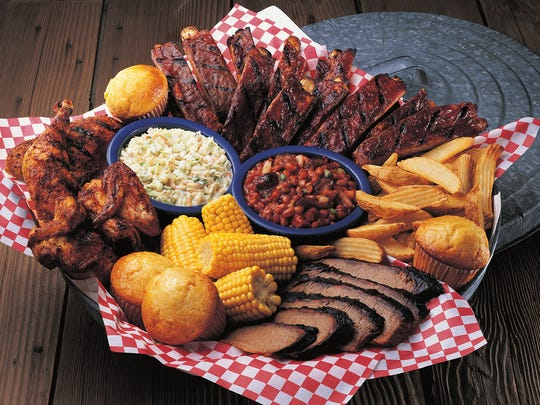 Famous Dave's all-American BBQ feast includes St. Louis