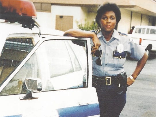 Warrick Dunn's mother, Betty Smothers, was a police
