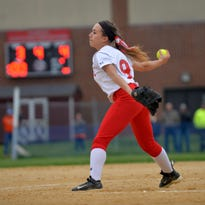 Delsea's Anastasia Reale has thrown 110 of her team's 124.1 innings this season.