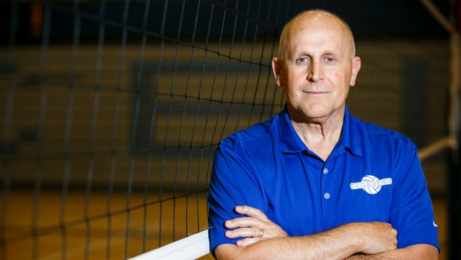 Bruce Myers is the new girls volleyball coach at McNary High School. Myers is No. 13 on the state's all-time wins list, but he is one of the last to talk about his number of wins.