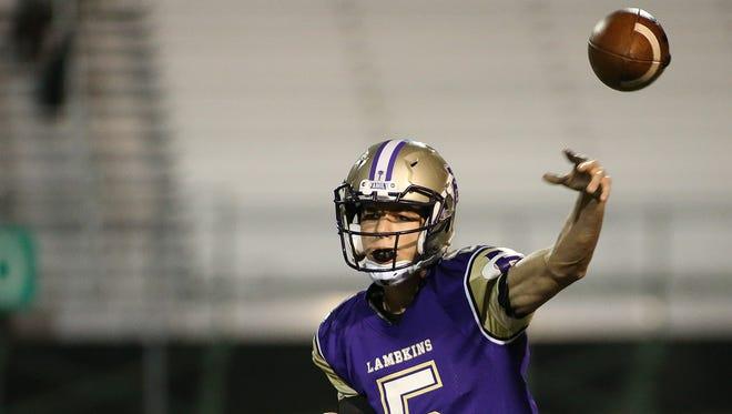 Fort Collins High School quarterback Jonathan Erickson will play at Benedictine College in Kansas.
