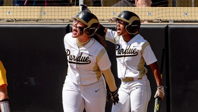 Lexi Huffman and Maya Hughess have been instrumental in Purdue softball's turnaround over the last three weeks.