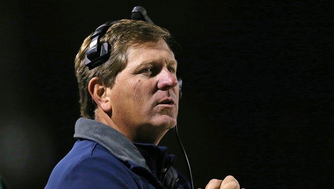 Cathedra coach Rick Streiff.