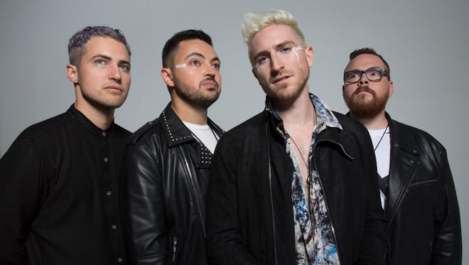 Walk the Moon, from left: Kevin Ray, Eli Maiman, Nicholas Petricca and Sean Waugaman.
