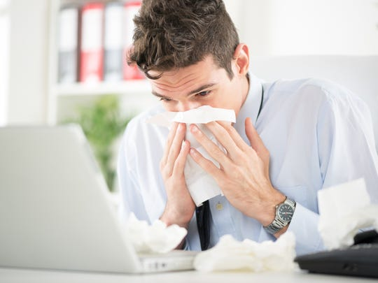 Stay home from work and don't run errands when you are sick, if possible.