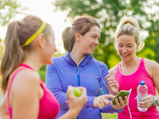 Friendship and fitness in the park